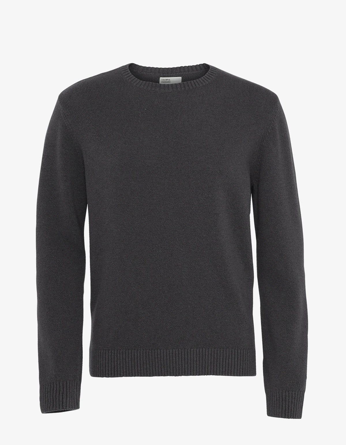 Colorful Standard Classic Merino Wool Crew Sweater Lava Grey