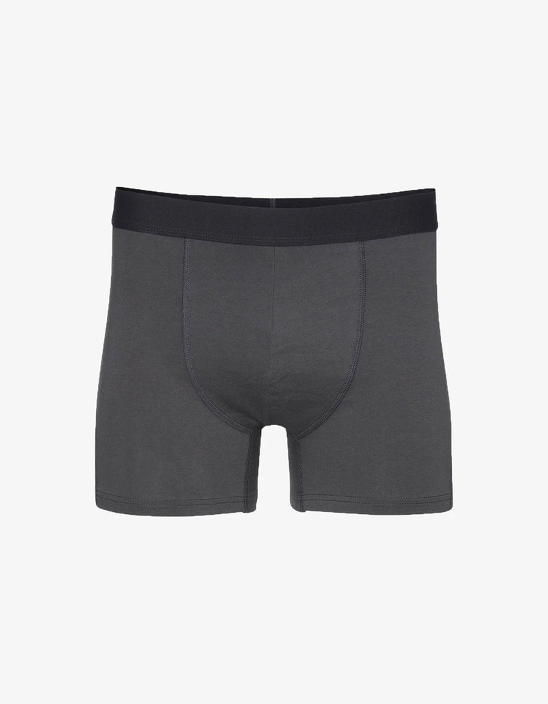 Colorful Standard Classic Organic Boxer Briefs in Lava Grey