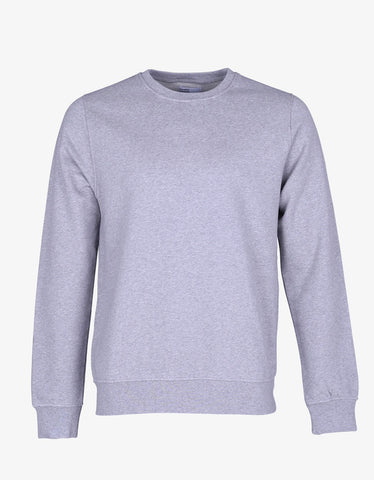 Colorful Standard Classic Organic Crew Sweatshirt Heather Grey