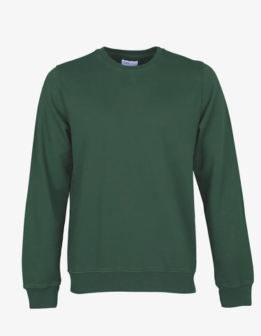 Colorful Standard Classic Organic Crew Sweatshirt Emerald Green