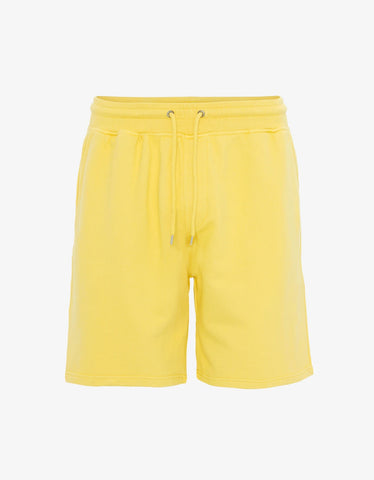 Colorful Standard Classic Organic Sweatshorts Lemon Yellow