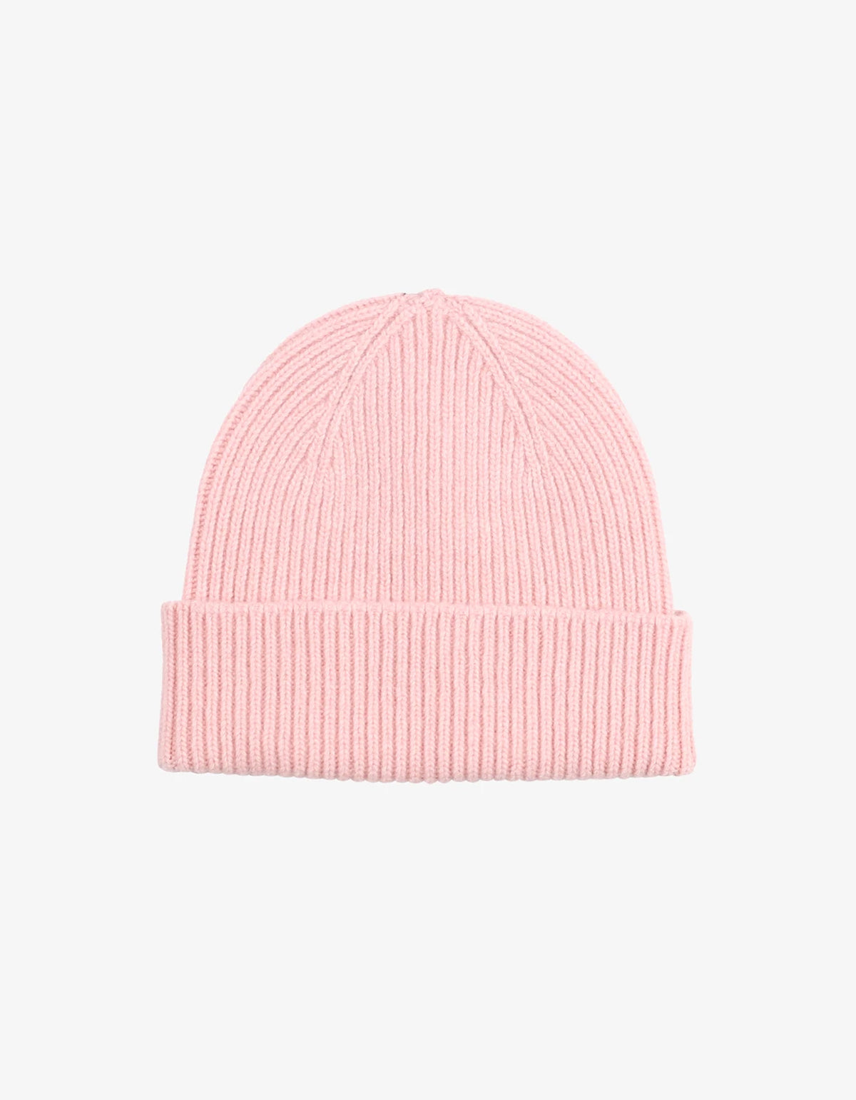 Colorful Standard Merino Wool Beanie Faded Pink