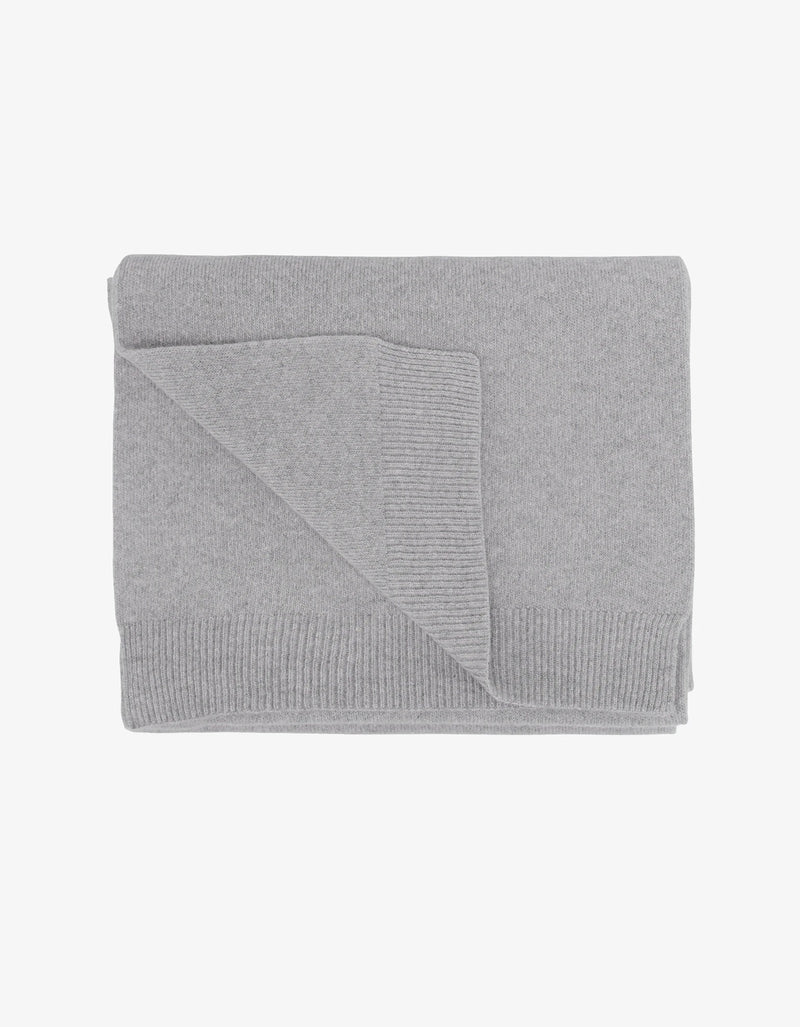 Colorful Standard Merino Wool Scarf Heather Grey