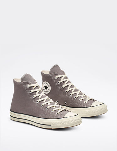 Converse Men's Chuck 70 High Top Mason Egret Black