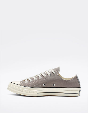 Converse Men's Chuck 70 Low Top Mason Egret Black