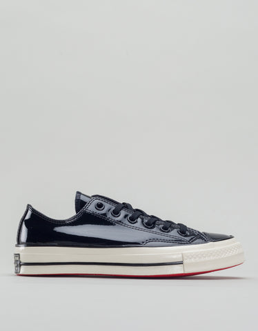 Converse Women's Chuck 70 Low Top Black Patent