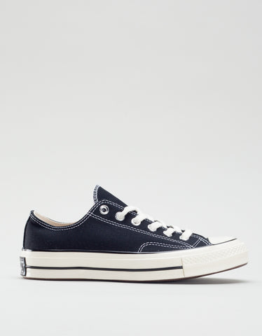 Converse Women's Chuck 70 Low Top in Black Egret White