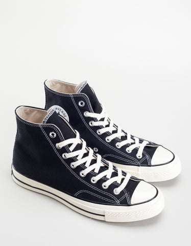 Converse Men's Chuck 70 High Top Black Egret White