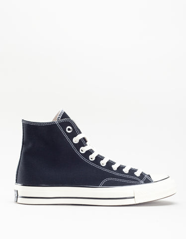 Converse Women's Chuck 70 High Top Black Egret White