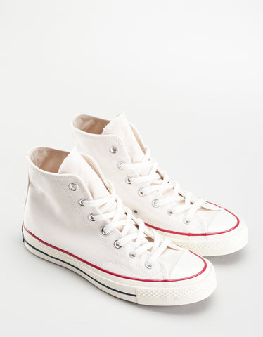Converse Women's Chuck 70 High Top Parchment Egret White