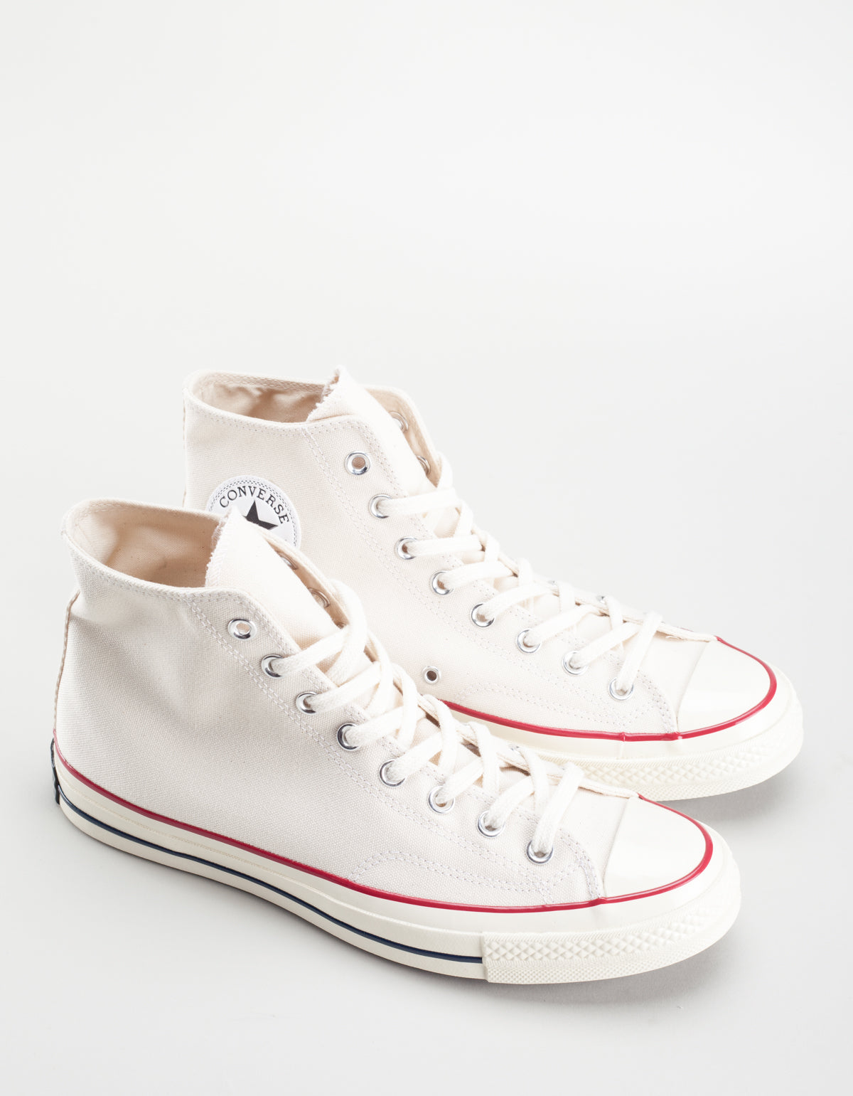 Converse Men's Chuck 70 High Top Parchment Egret White