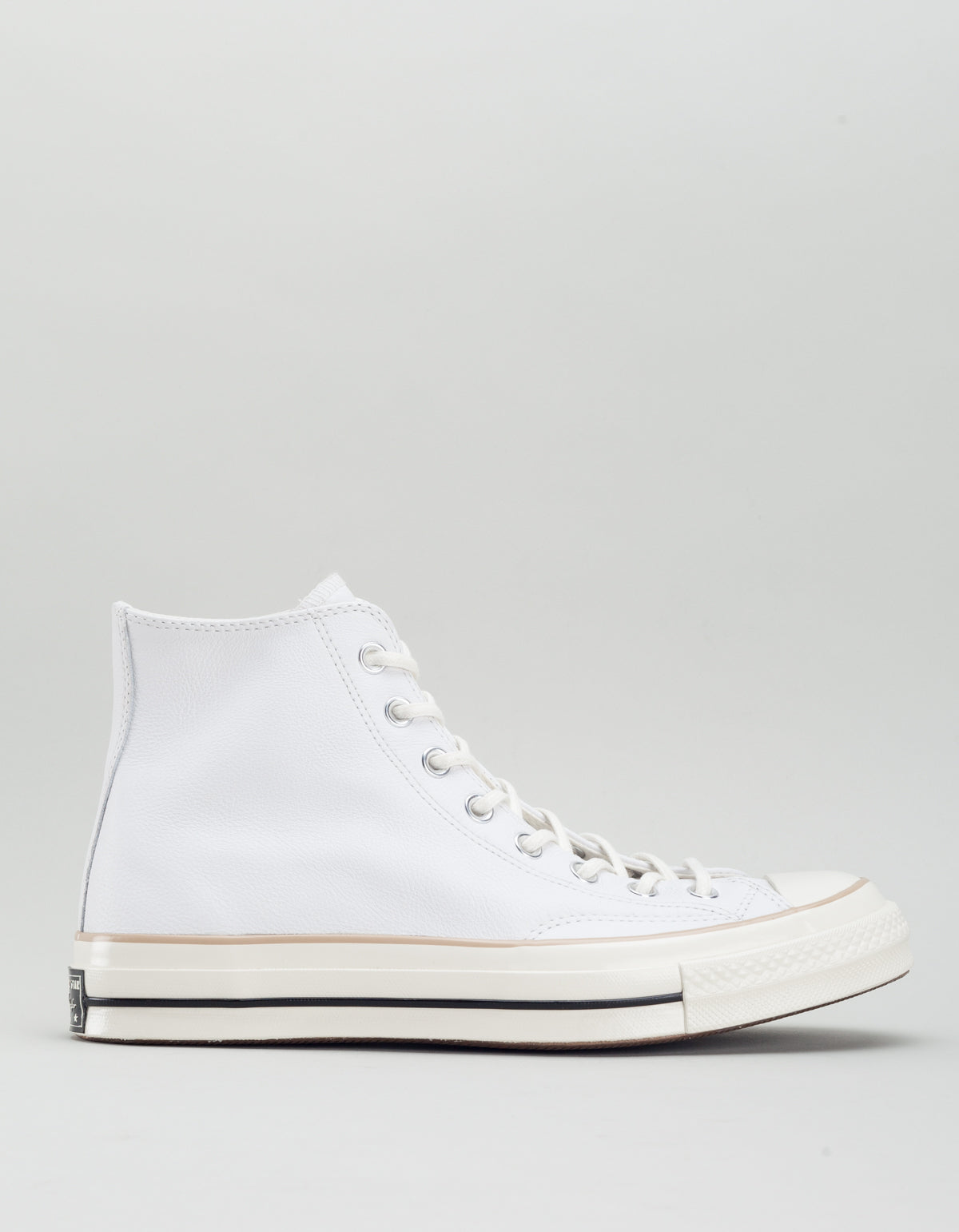 9852094034a Converse Men s Chuck 70 Leather High Top White Light Fawn Egret – Still Life