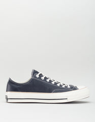 Converse Men's Chuck 70 Leather Low Top Black Light Fawn Egret