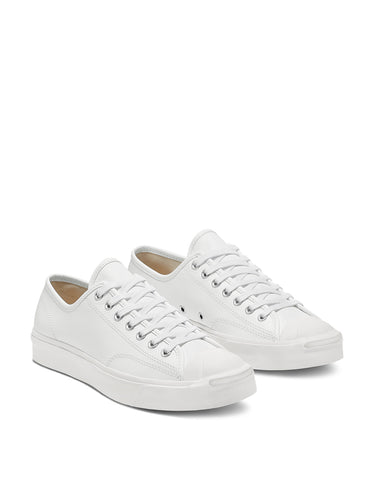 Converse Women's Jack Purcell Foundational Leather - Low Top White