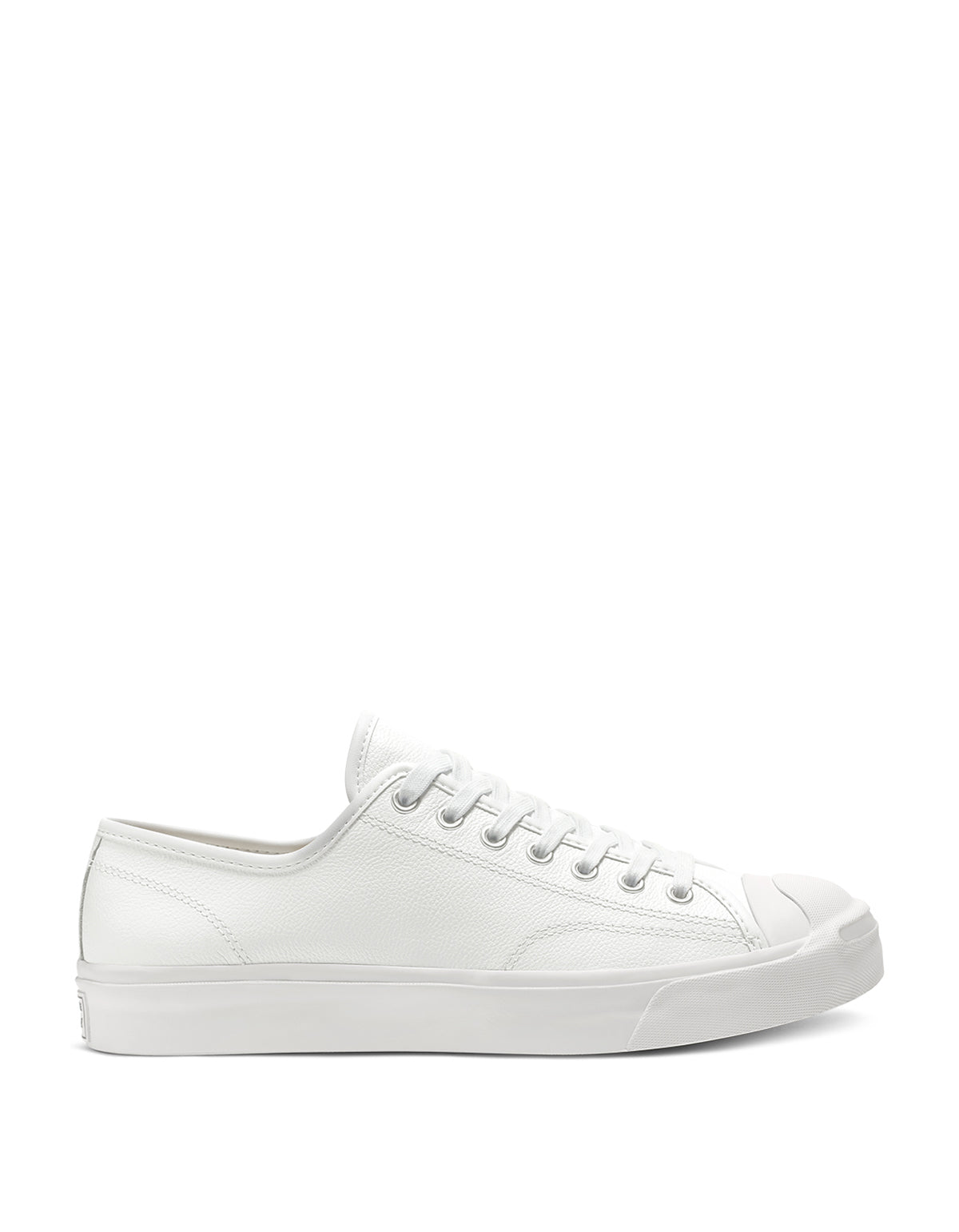 Converse Men's Jack Purcell Foundational Leather Low Top White