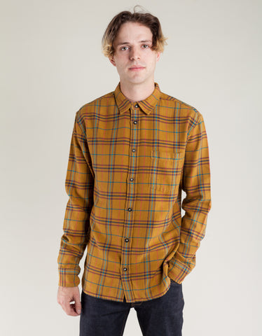 Corridor Autumn Plaid Shirt Mustard