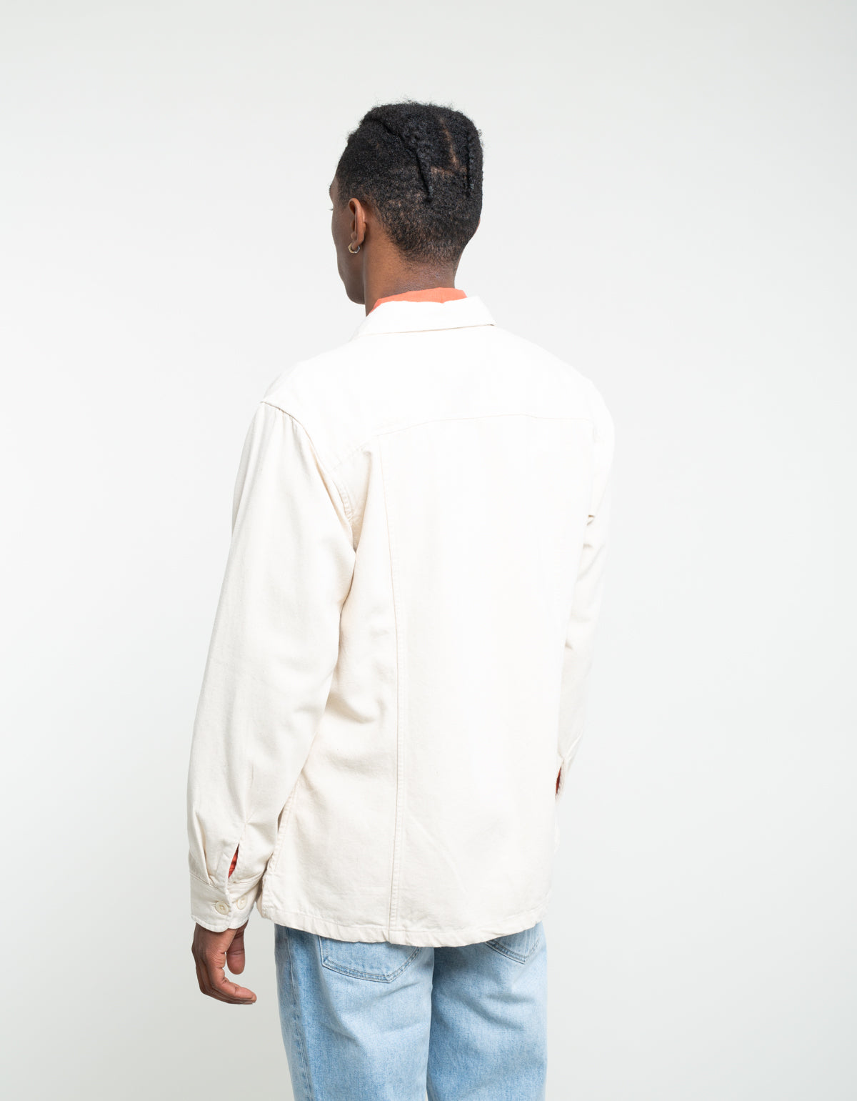 Corridor Canvas Overshirt Natural