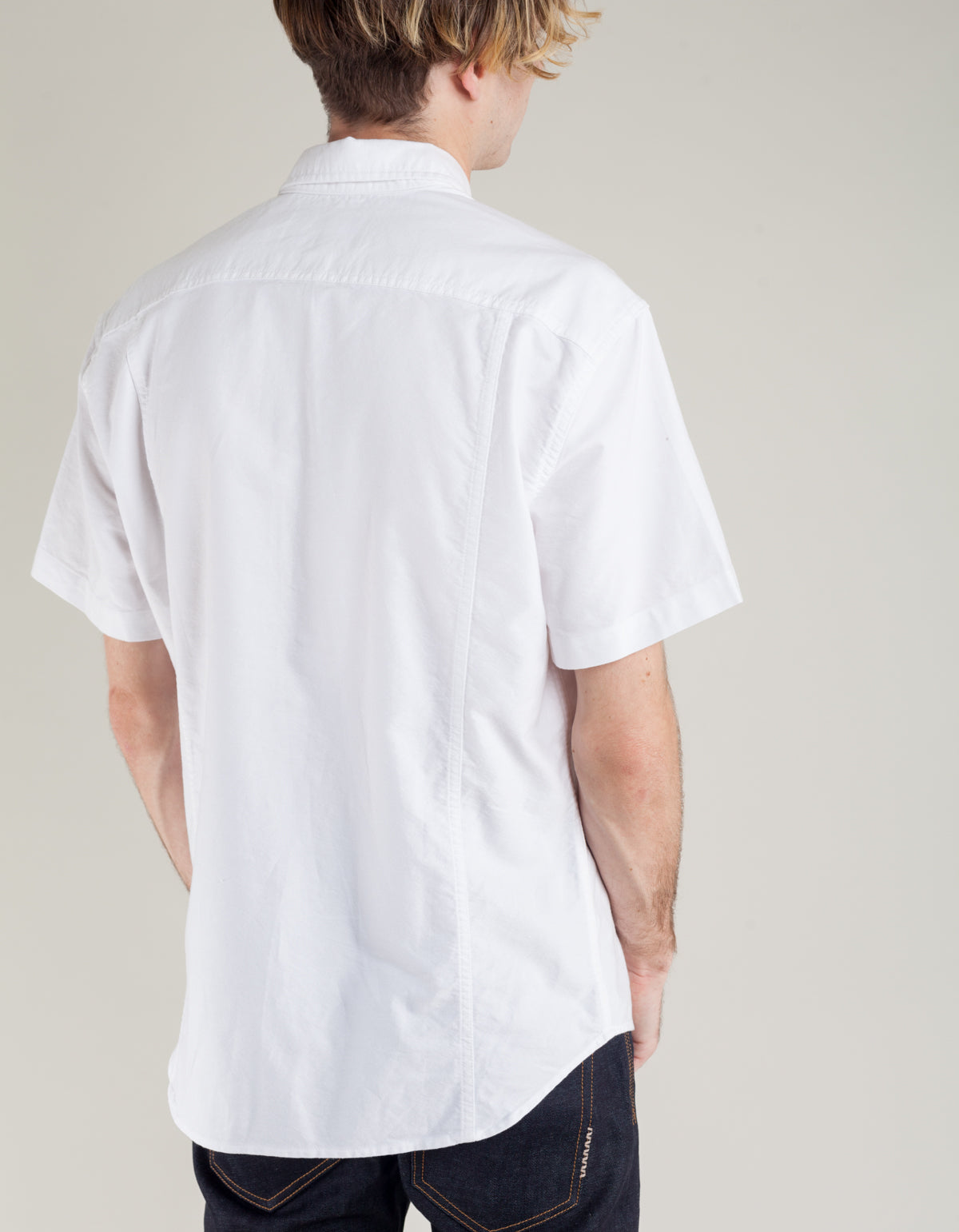 Corridor Classic Short Sleeve Oxford White
