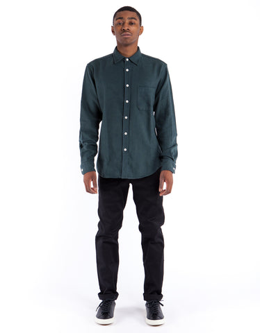 Corridor Flannel Shirt Green
