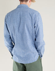 Corridor Flannel Shirt Speckle Blue