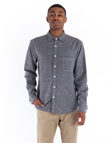 Corridor Heather Flannel Shirt Olive