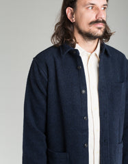 Corridor Lambswool 18oz Jacket Navy