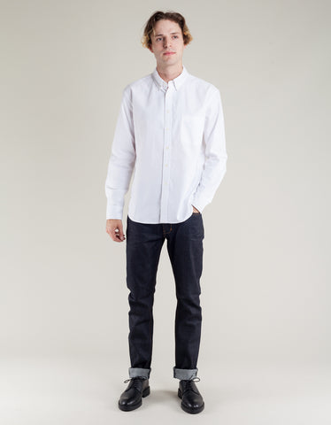 Corridor Oxford Shirt White
