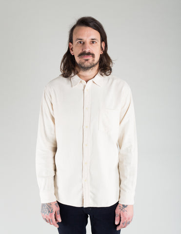 Corridor Twill Flannel Shirt Cornmeal