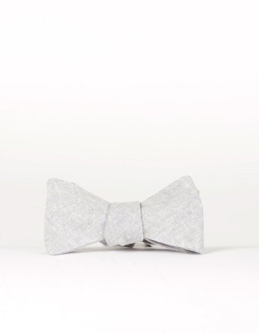 Cursor and Thread Salt and Pepper Bow Tie Dove Grey - Still Life