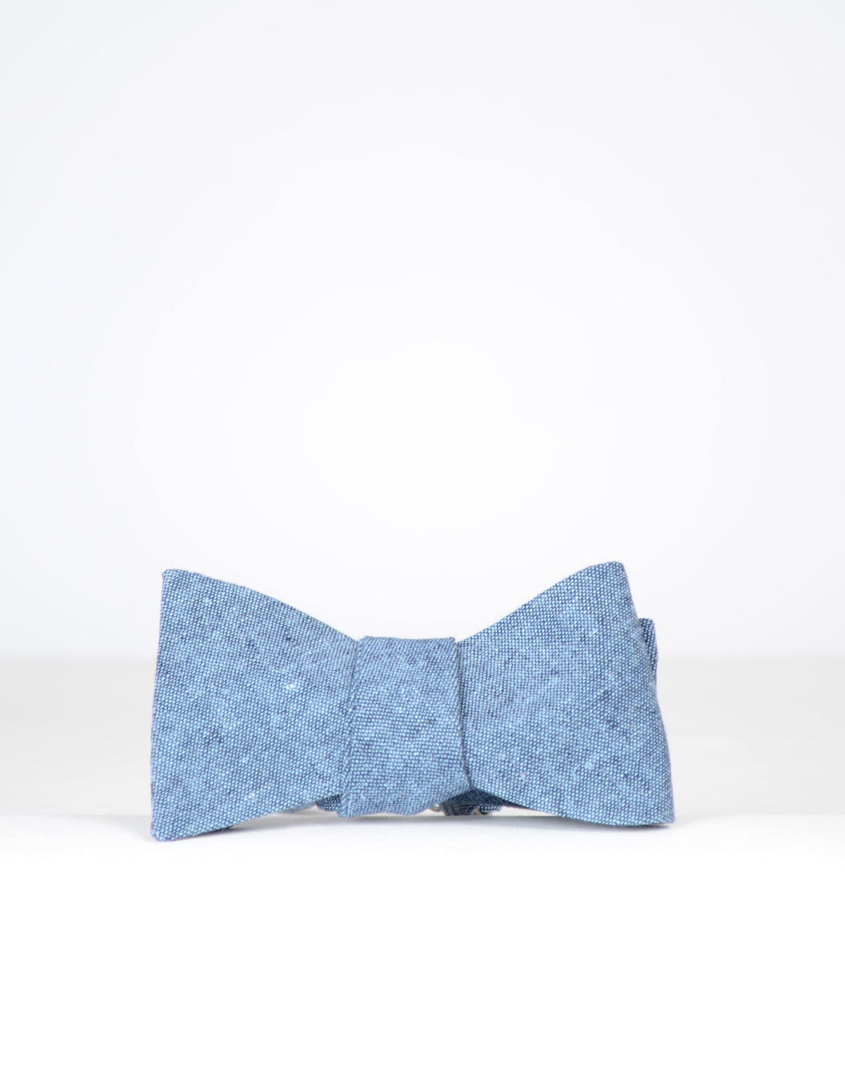 Cursor and Thread Salt and Pepper Bow Tie Indigo - Still Life