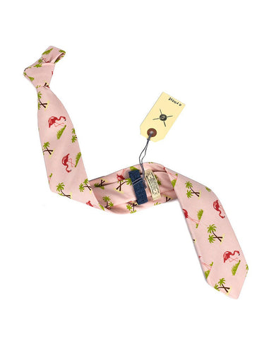 Cursor and Thread Ernest Neck Tie Pink