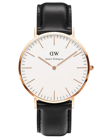 Daniel Wellington Sheffield Watch Rose Gold 40mm - Still Life - 1
