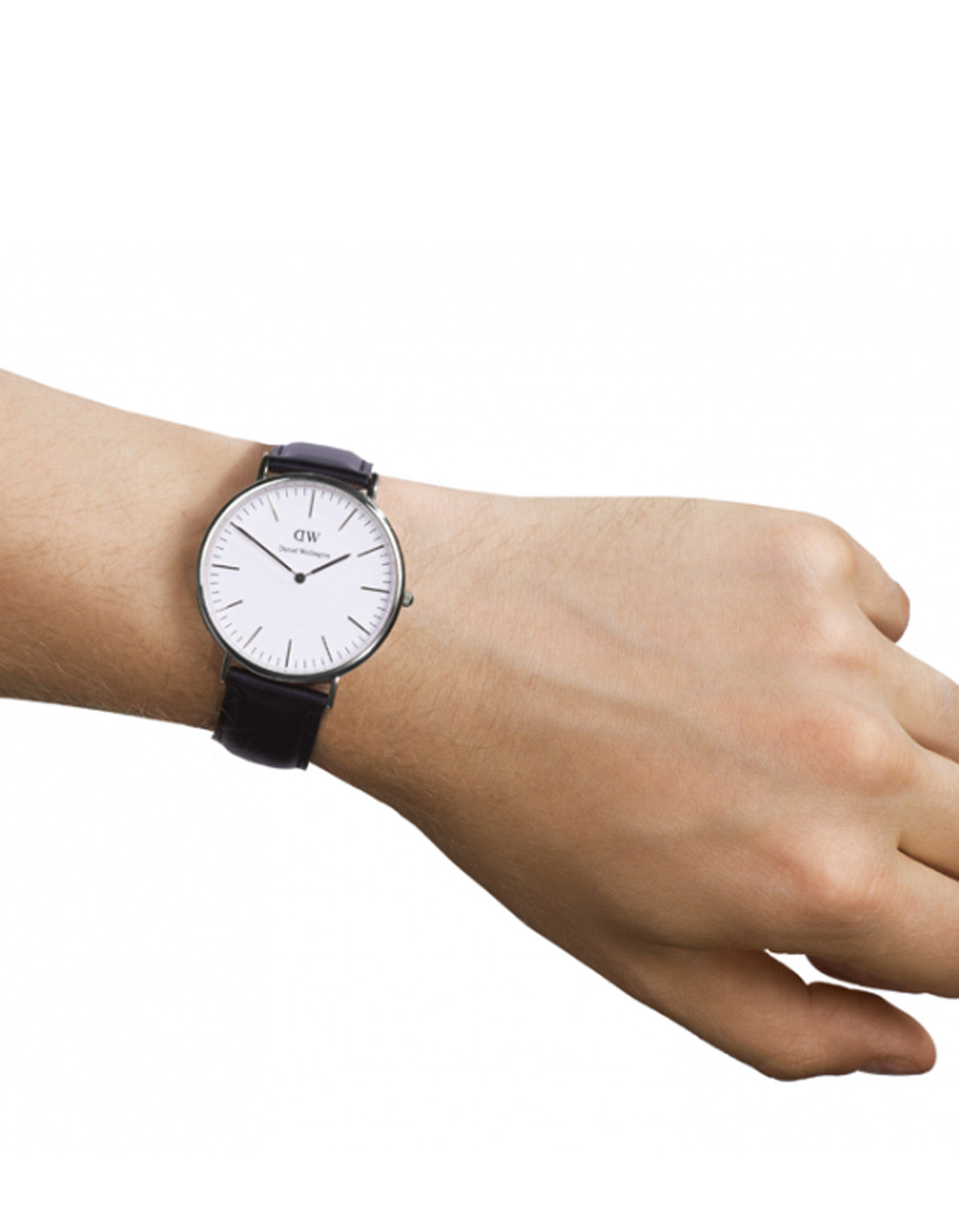 Daniel Wellington Sheffield Watch Silver 40mm - Still Life - 4