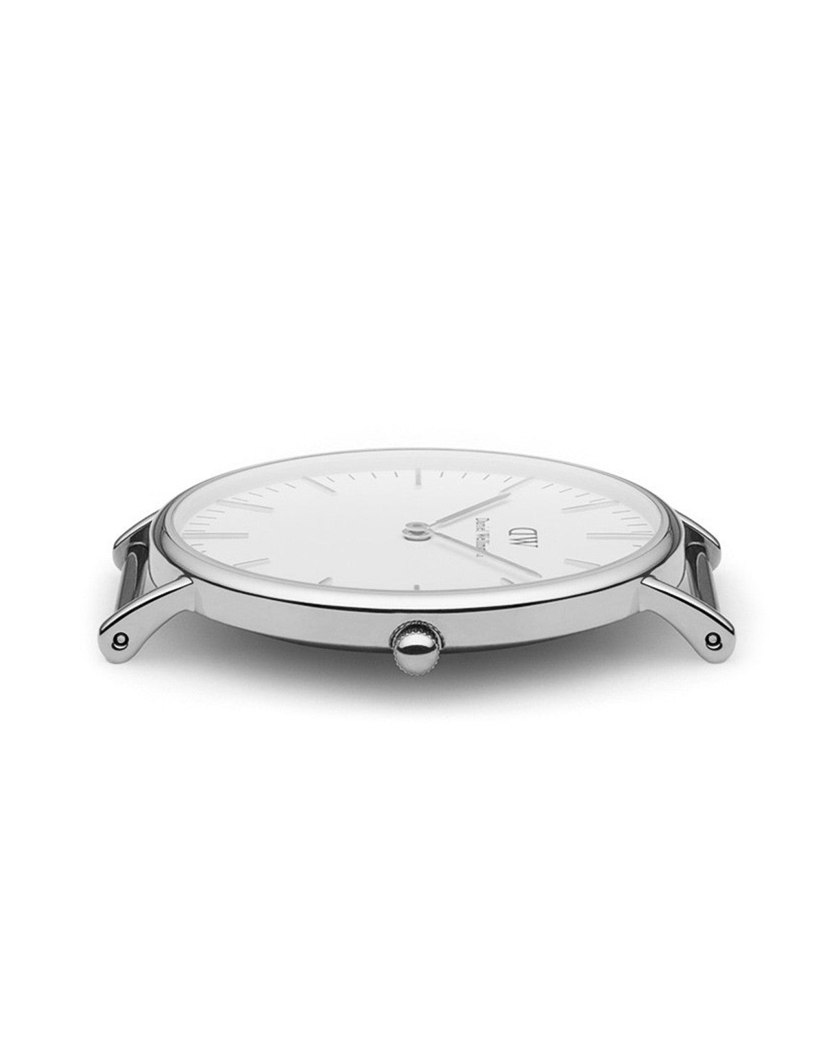 Daniel Wellington Sheffield Watch Silver 40mm - Still Life - 2