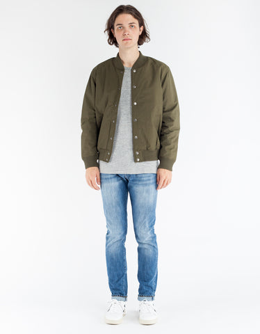 Deus Chuck Fleece Bomber Bark
