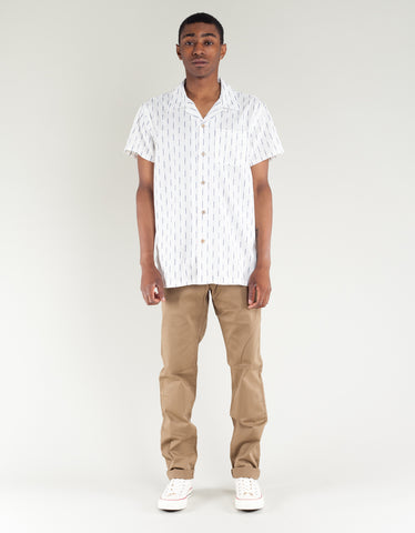 Deus Dean Vertical Shirt Off White