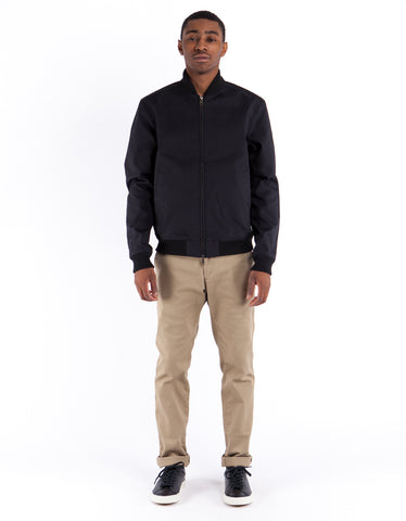 Deus Garth Bomber Jacket Black