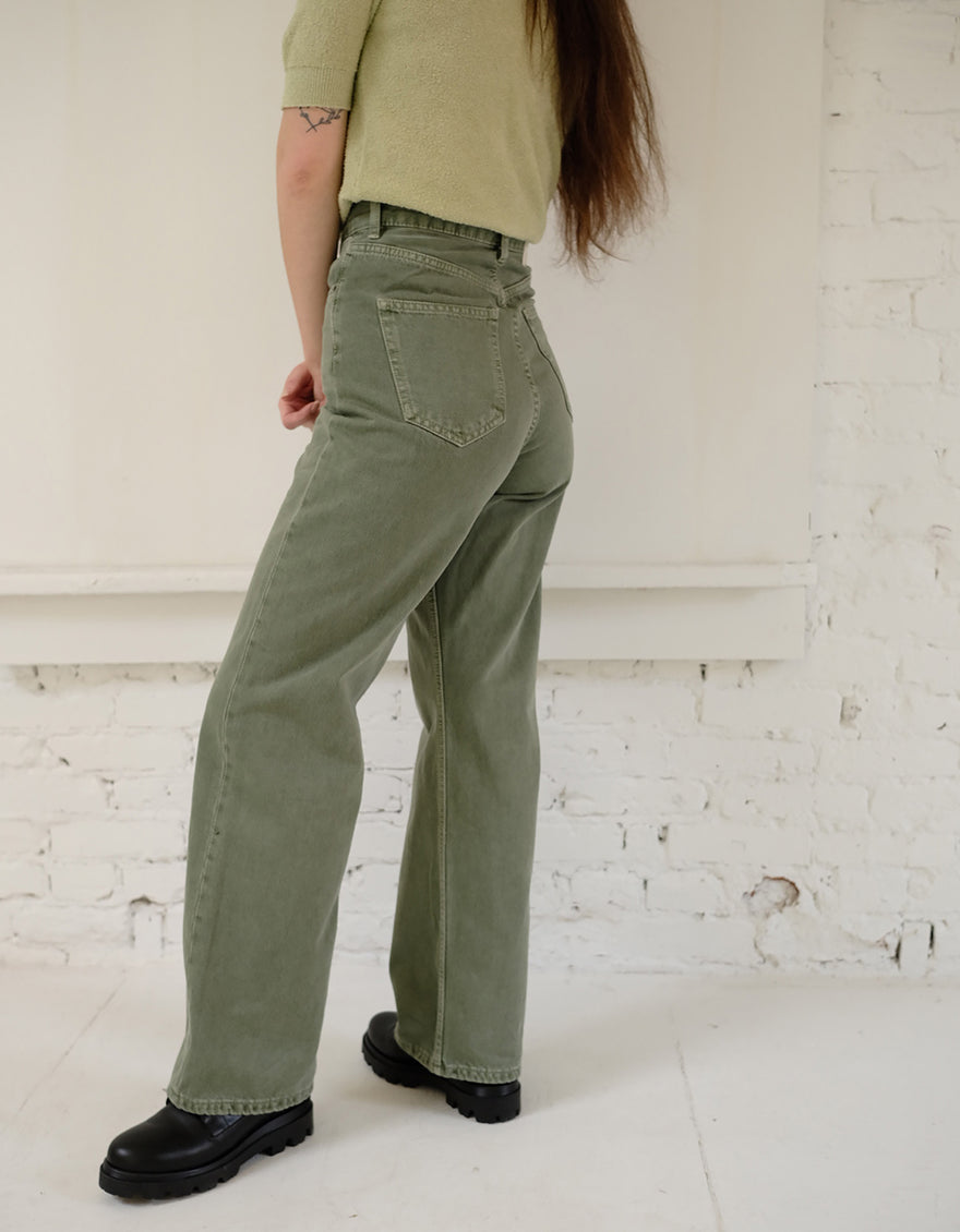 Dr. Denim Echo Jeans in Washed Green