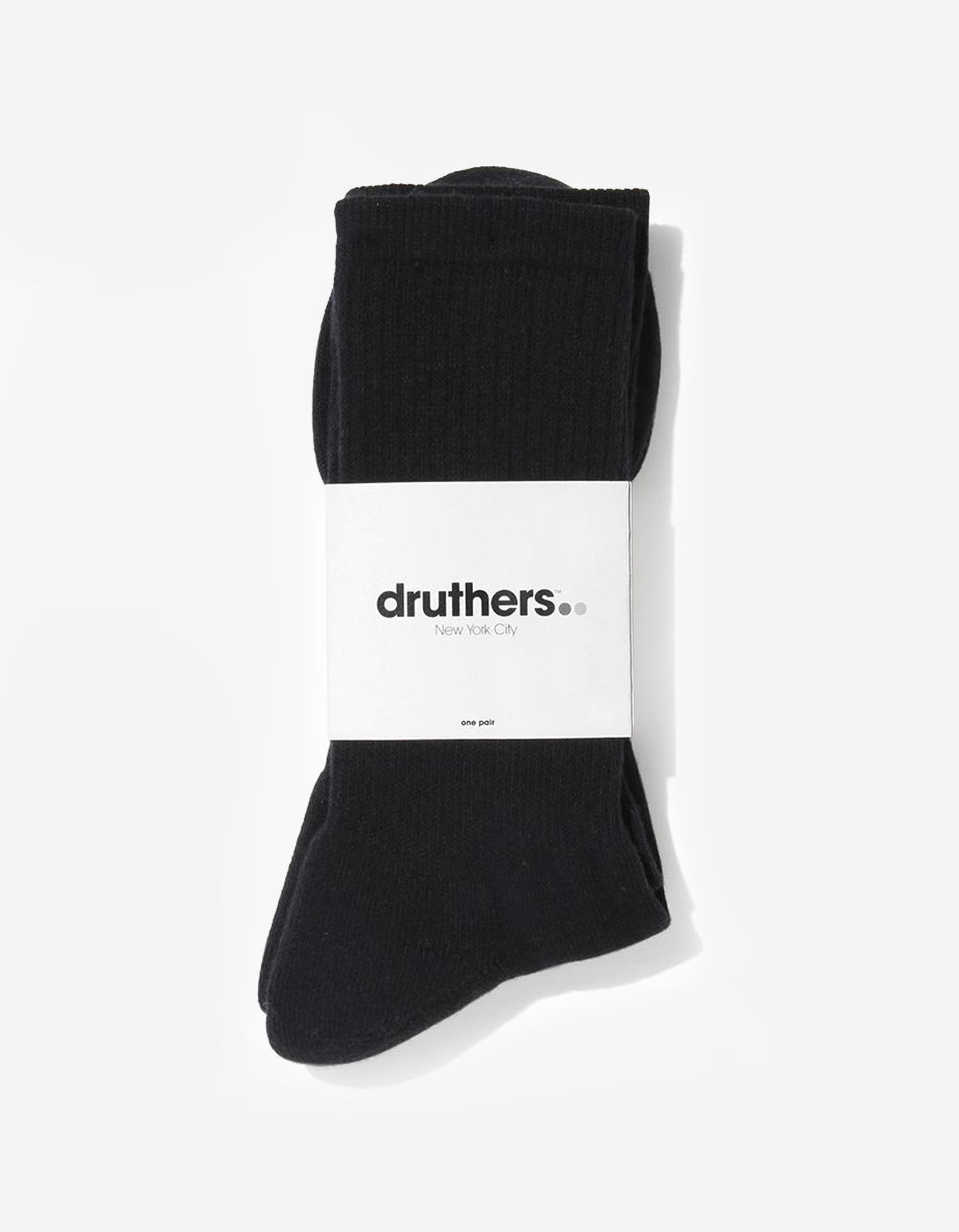 Druthers Everyday Crew Black