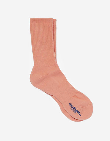 Druthers Everyday Crew Socks Grapefruit