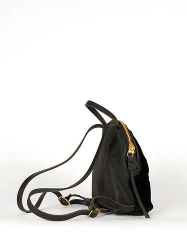 Eleven Thirty Anni Mini Backpack Black Shearling - Still Life - 3