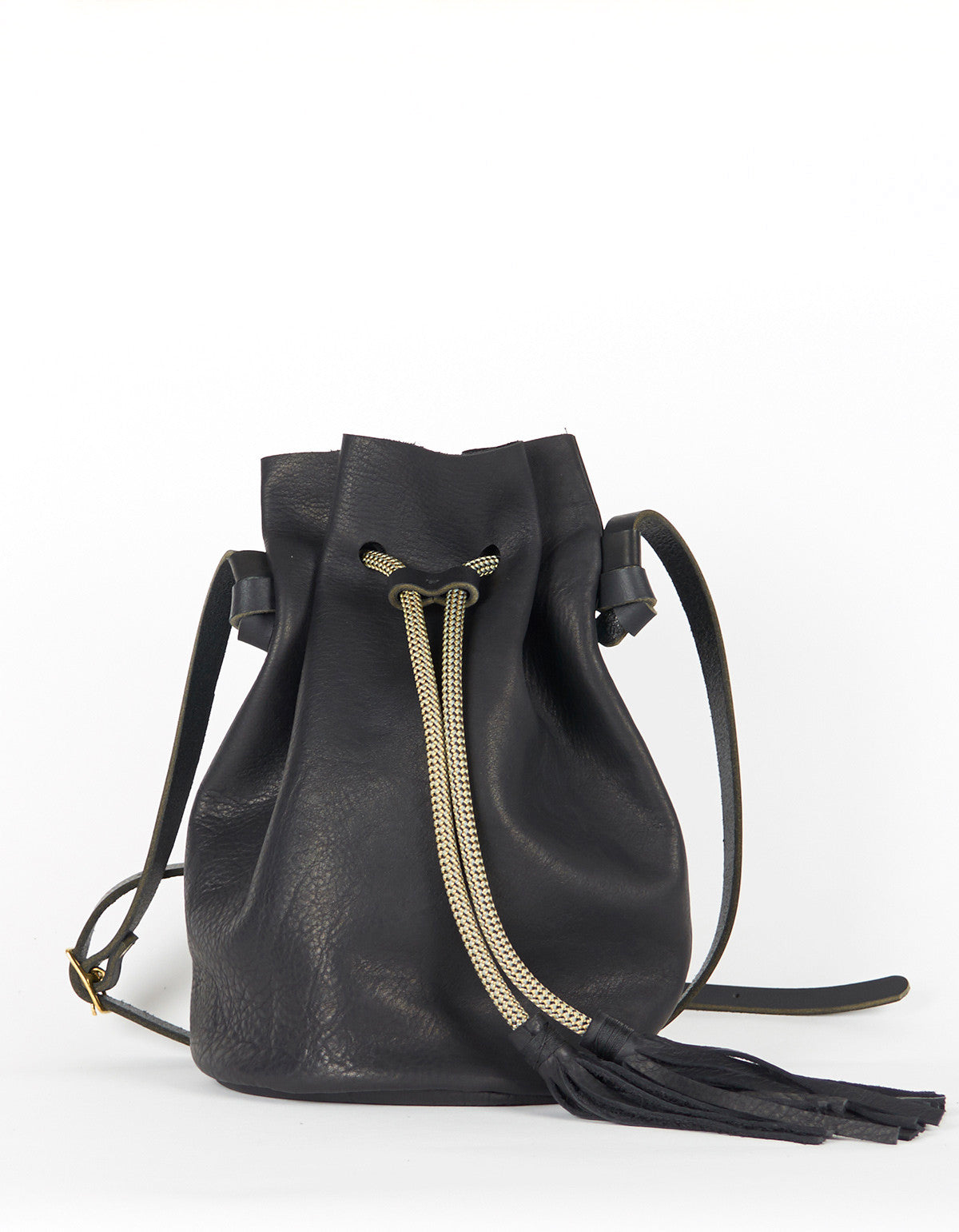 Eleven Thirty Christie Large Bucket Bag Black - Still Life - 1