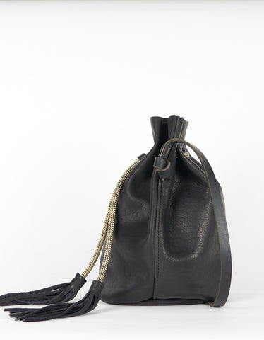 Eleven Thirty Christie Large Bucket Bag Black - Still Life - 2