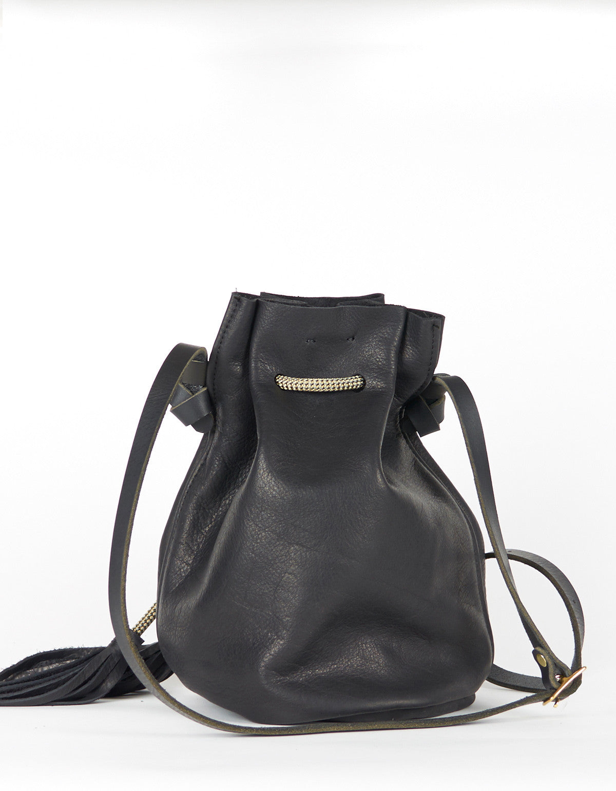 Eleven Thirty Christie Large Bucket Bag Black - Still Life - 3