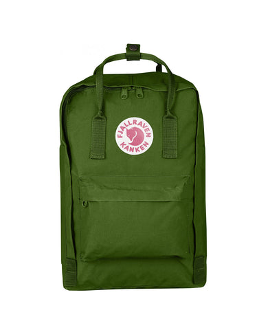 "Fjallraven 15"" Laptop Kanken Backpack Leaf Green - Still Life"
