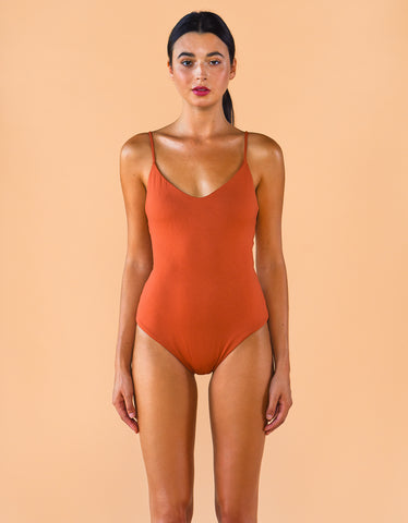 Fenntessa One Piece Swimsuit Rust