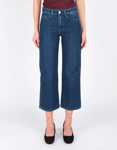 Filippa K Iris Dark Blue Denim Dark Blue Wash Denim - Still Life - 2
