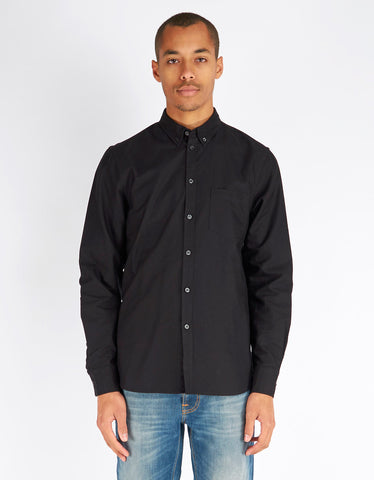 Filippa K Paul Oxford Shirt Black - Still Life - 1