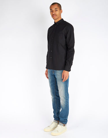 Filippa K Paul Oxford Shirt Black - Still Life - 2