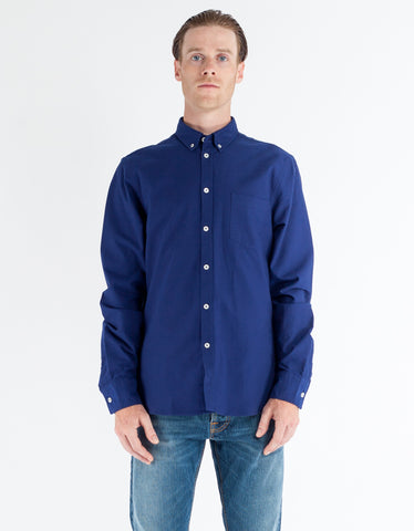 Filippa K Paul Oxford Shirt Shore Deepwater